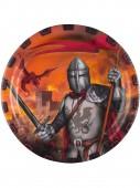 8 Teller Ritter - dunkle Zeiten