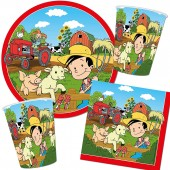 37-teiliges Spar-Set: Bauernhof