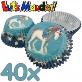 40 Muffinförmchen Lunabelle