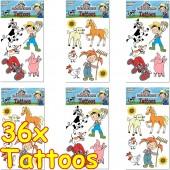 Bauernhof & Tiere Tattoos