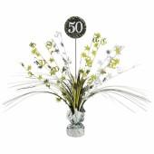 Centerpiece 50. Geburtstag - Sparkling Celebration