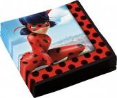 20 Servietten Miraculous Ladybug