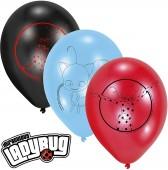 6 Luftballons Ladybug