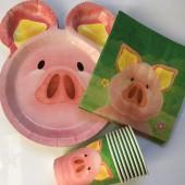 37-teiliges Spar-Set: Süßes Schweinchen