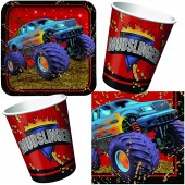 33-teiliges Spar-Set: Monstertruck