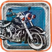 8 Teller Motorrad
