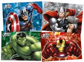 4 Platzsets Avengers Assemble