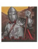 20 Servietten Ritter - dunkle Zeiten