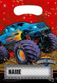 8 Partytüten Monstertruck