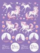 Fantasy Einhorn Sticker