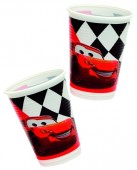 10 Becher Cars Red