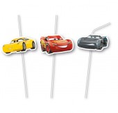 6 Trinkhalme Cars III