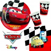 40-teiliges Spar-Set: Cars Red