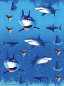 Haifisch Sticker