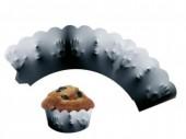 12 Cupcake Deko-Banderolen Horror - Schatten Hand
