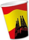 10 Becher Spanien
