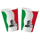10 Becher Italien