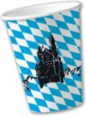 10 Becher Bayern / Oktoberfest