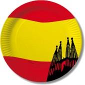10 Teller Spanien