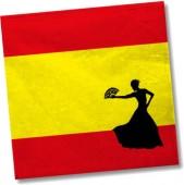 20 Servietten Spanien