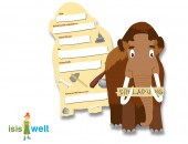 6 Einladungen in Mammutform