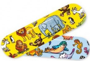 10 Kinder-Pflaster Zootiere