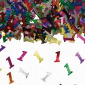 Konfetti für den 1. Geburtstag