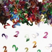 Konfetti für den 2. Geburtstag