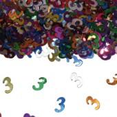 Konfetti für den 3. Geburtstag