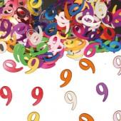Konfetti für den 9. Geburtstag