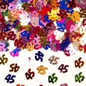 Konfetti für den 45. Geburtstag