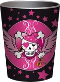 8 Becher Piraten - Pirate Girl