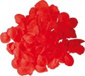 Rotes Rosenblatt Konfetti