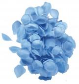 Blaues Rosenblatt Konfetti