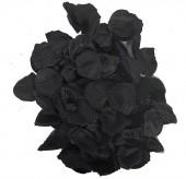 Schwarzes Rosenblatt Konfetti