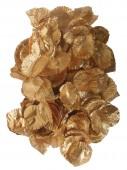 Goldenes Rosenblatt Konfetti
