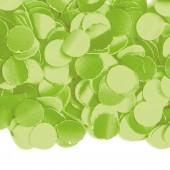 Hellgrünes Konfetti