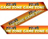 Deko Absperrband Game Zone