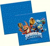 20 Servietten Skylanders Giants Blue
