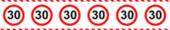 Absperrband 30