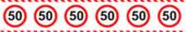 Absperrband 50