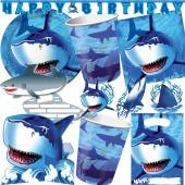 99-teiliges Set: Haifisch