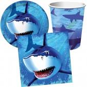 37-teiliges Spar-Set: Haifisch