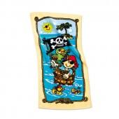Zauberhandtuch Pirat Pit Planke
