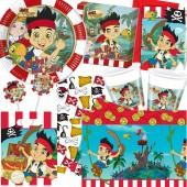 96-teiliges Set: Jake und die Nimmerland Piraten
