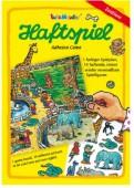 A4 Haftspiel Zootiere für Kinder