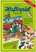 A4 Haftspiel Reiterhof für Kinder