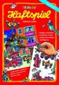 A4 Haftspiel Feuerwehr für Kinder