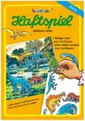 A4 Haftspiel Dinosaurier für Kinder