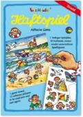 A5 Haftspiel Am Strand für Kinder